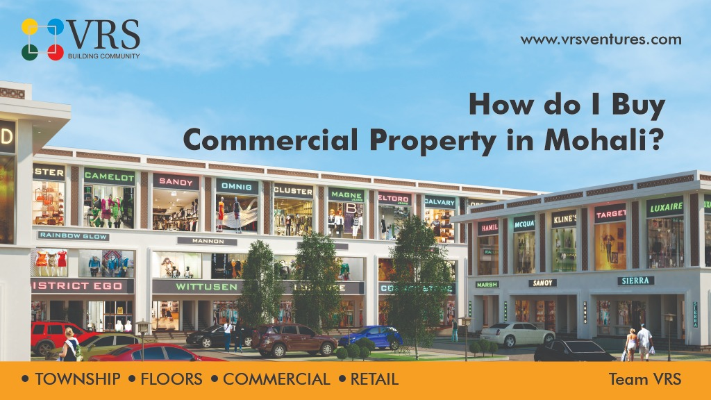 How do I Buy Commercial Property in Mohali