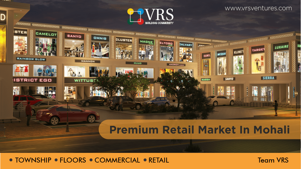 premium retail markets in mohali