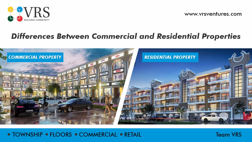 Differences Between Commercial and Residential Properties