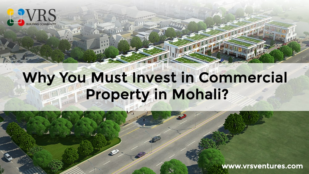 Why You Must Invest in Commercial Property in Mohali